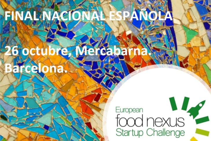 "Ten Spanish startups will compete to win the ""European Food Nexus Startup Challenge"""