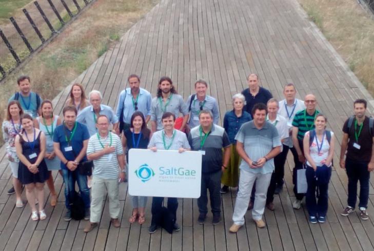 CLUSTER FOOD+i celebra la reunión general de seguimiento del Proyecto SaltGae.