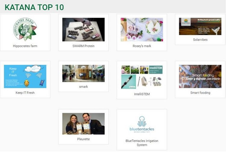 IT'S TIME TO ANNOUNCE THE KATANA TOP 10!!  THE 10 WINNING CONSORTIA FROM THE SECOND CALL.