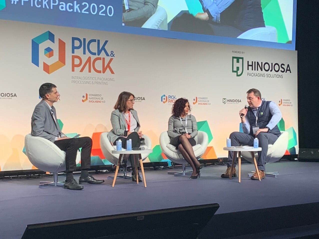 (ESP) CLÚSTER FOOD+i PONENTE EN LA FERIA PICK&PACK EN LA SESIÓN RETOS DE SMART PACKAGING