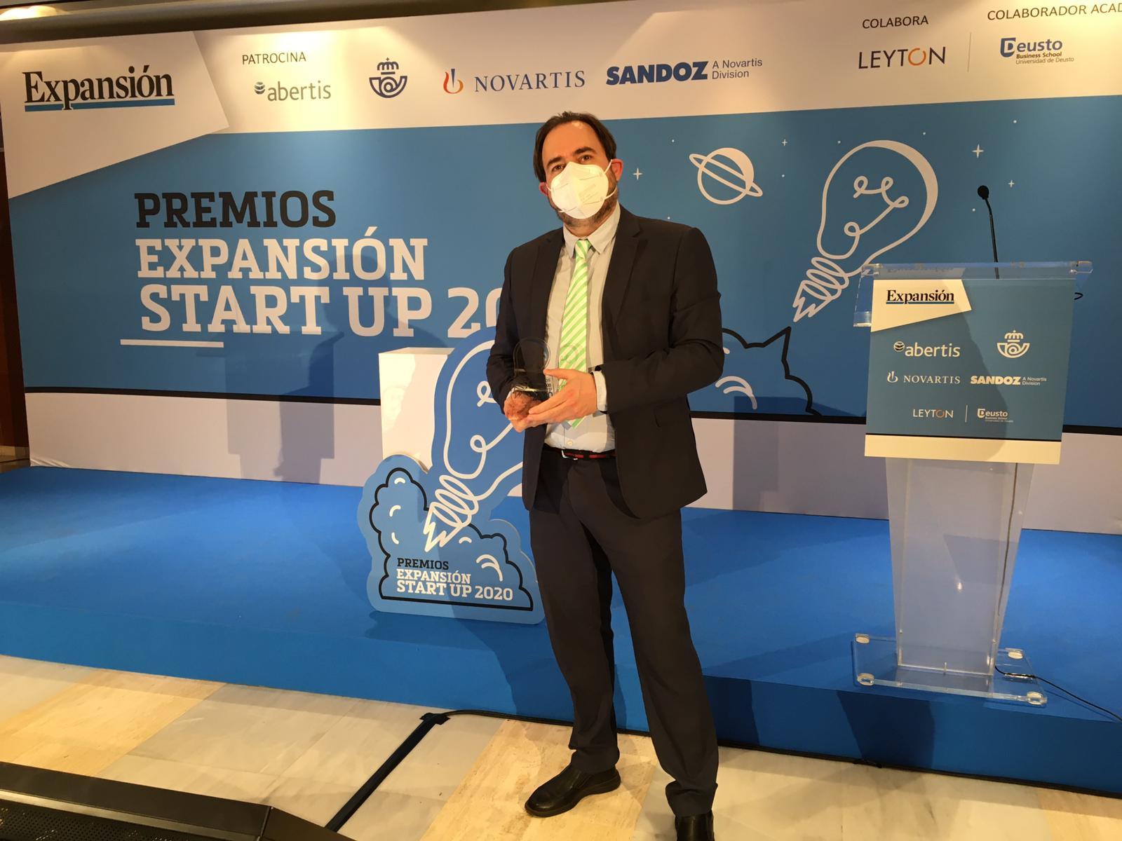 (ESP) Ingredalia, 2ª mejor startup de Alimentación y Agrotech en los Premios Expansión Start Up 2020