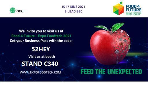 FOOD+i y sus empresas, presentes en Food 4 Future