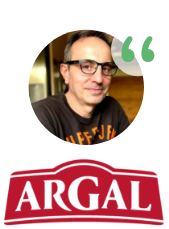 Belonging to FOOD+i allows to exponentially increase innovative activity, face new challenges, find suitable partners for the development of disruptive projects and increase agility in obtaining results. Jaume Palau R&D manager at Grupo Alimentario Argal S.A